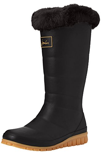 Joules Womens Downton Rain Boot Black