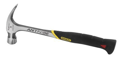 Stanley FatMax 51-944 20-Ounce AntiVibe Rip Claw Nailing Hammer