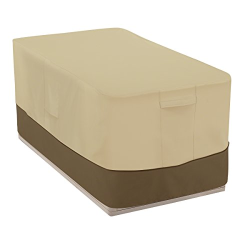 Classic Accessories Veranda Patio Deck Box Cover - Durable and Water-Resistant Patio Furniture Cover, 55-Inch (55-706-011501-00)