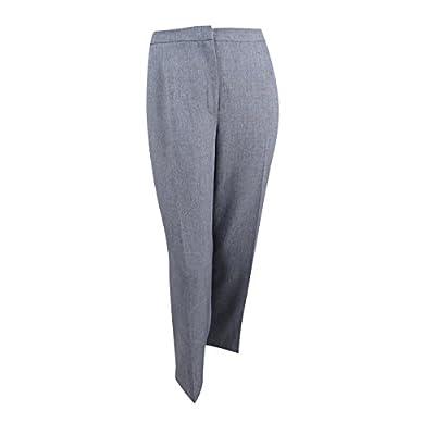 Kasper Women's Stretch Crepe Kate Trouser Pant at Women's Clothing store