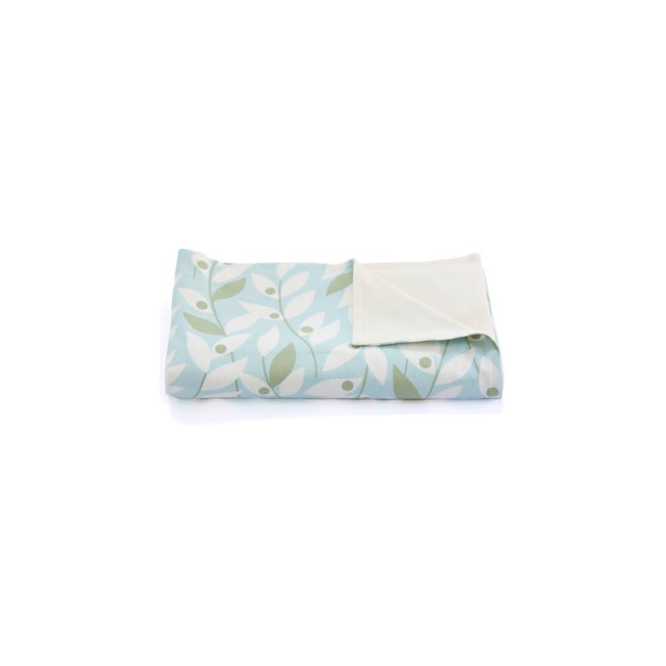 Organic Baby Blanket   Stroller Blanket   Soft & Light 100% Cotton   Baby Registry Shower Gift   USA Made (GROVE)