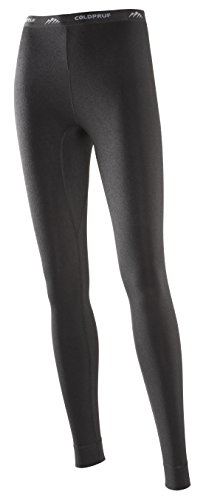ColdPruf Women's Performance Single Layer Bottom, Black, Large