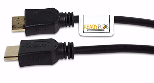 ReadyPlug HDMI Cable for: Yamaha YAS-207 Sound Bar (Black, 20 Feet)