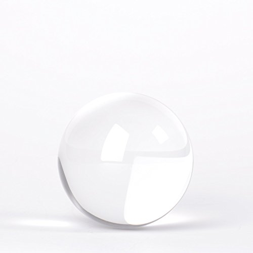 Lensball Pocket (60mm), K9 Crystal Ball with Microfiber Pouch, Photography Accessory