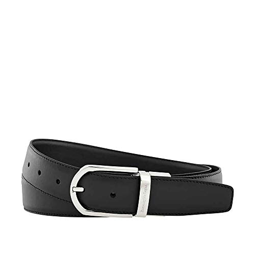 "Zegna XXL Men's Leather Belt- Black- 43"" for sale  Delivered anywhere in USA"