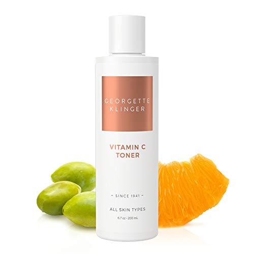 Georgette Klinger Vitamin C Face Toner – Alcohol Free Facial Toner Brightens Skin, Fades Damage from Sun, Aging & Acne Scars