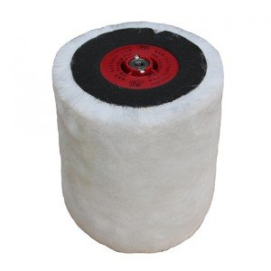 BUFFPRO Wool SLW Finishing Pad - Red Ends