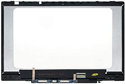 LCDOLED Replacement 14 inches HD LCD Panel Touch Screen Assembly Bezel with  Board for HP Pavilion x360 14m-cd0000 14-cd0011nr 14m-cd0001dx