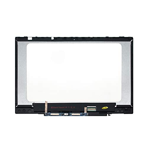 LCDOLED 14.0'' 1920x1080 IPS LCD Display Touch Screen Digitizer Assembly + Bezel + Board Replacement for HP Pavilion x360 14m-cd0000 14-cd0011nr 14m-cd0001dx 14m-cd0003dx 14m-cd0005dx 14m-cd0006dx by LCDOLED (Image #1)