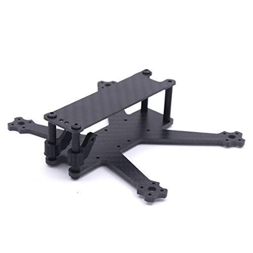 B-ROLL 140mm 140 MICROミニカーボンファイバーフレーム、ランカムスプリットミニカメラ、20mm×20mmスタックフロントMICRO HDカメラ用