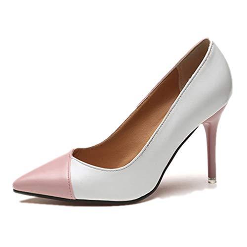 La Rose Glisser Simples Cour De Verni Pompes Chaussures Femmes Fête Mariage sur Cuir Les En Talons Escarpins Oaz1xw4