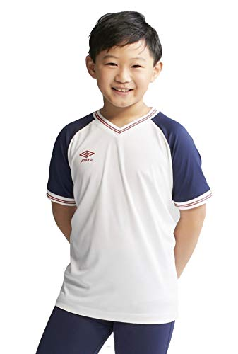 Umbro Boys' Jersey T-Shirt - (White, XL -