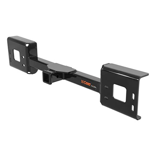 CURT 31114 Front Hitch with 2-Inch Receiver, Fits Select Ford Excursion, F-250, F-350, F-450, F-550 Super Duty