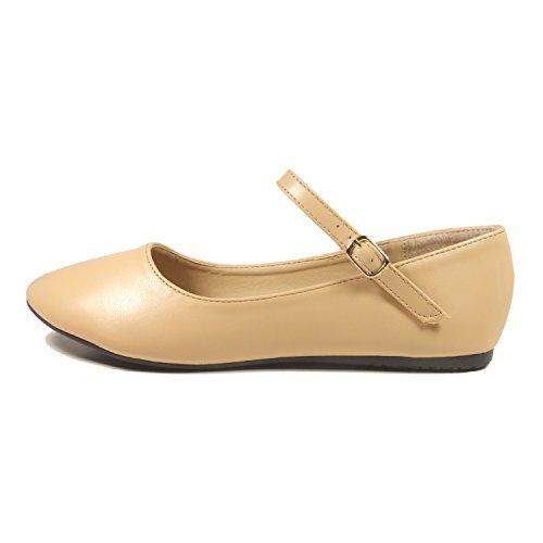 Nova Utopie Dames Mary Jane Style Ballet Flats Mjnew - Naakt