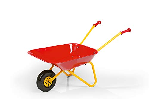 Robbie Toys S2627080 Franz Cutter Metal Wheelbarrow, Red