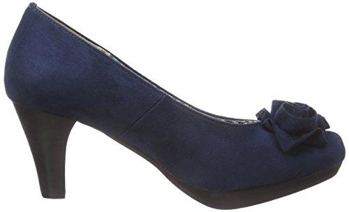 Scarpe Tacco dunkelblau Andrea Donne 017 Blu Conti Delle 3617400 ETATqR71wp
