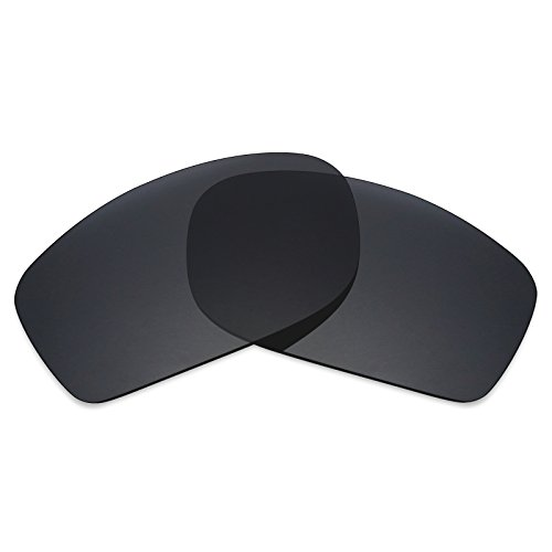 Mryok Polarized Replacement Lenses for Oakley Fives Squared - Stealth Black (Oakley Five Replacement Lens)
