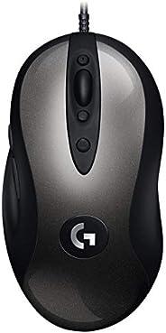 Logitech MX518 - Legendario Gaming Mouse Recargado, Negro  910-005543