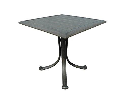 Panama Jack PJO-1501-GRY-ET Newport Beach Square End Table, Grey (Furniture Newport Patio Beach)