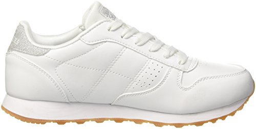Cool Og Bianco Donna 85 White Old Alto Sneaker School a Collo Skechers O1qRw4xR