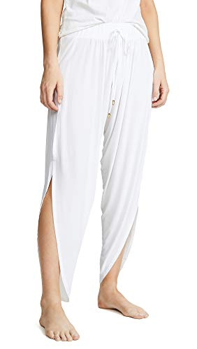 We Are HAH Women's I Dream of Genie Pants, Blanc, White, - Pant Knit Slinky Set