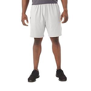 Russell Athletic Men's Dri-Power Coaches Short, Gridiron Silver, XXL