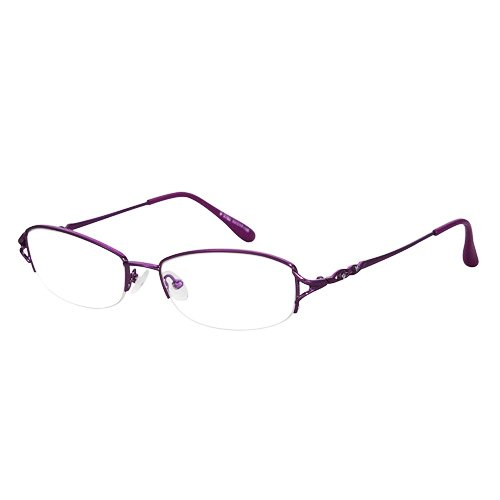 EyeBuyExpress Shield Violet Reading Glasses Magnification Strength - Sunglass Optical Express