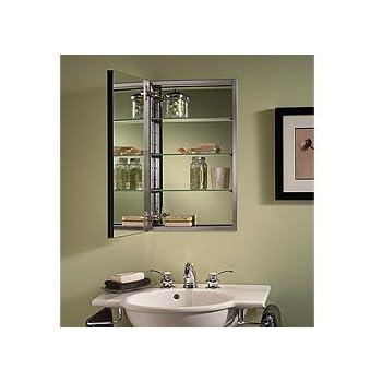 Amazon.com: Jensen 1450BC Mirror on Mirror Frameless Single-Door ...
