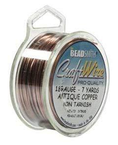 18 Ga Non Tarnish Antique Copper Wire 21 Ft. Craft Wire