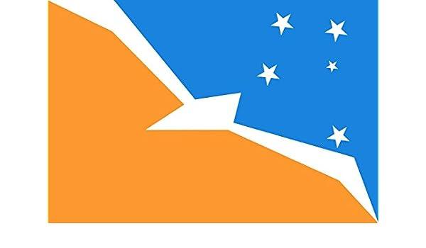 magFlags Bandera Small Provincia de Tierra del Fuego | Bandera Paisaje | 0.7m² | 70x100cm: Amazon.es: Jardín