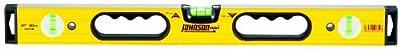 Johnson Level & Tool 9824-HH 24-Inch Contractor Aluminum Box Beam Level by Johnson Level & Tool