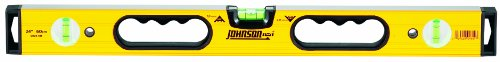 Johnson Level & Tool 9824-HH 24-Inch Contractor Aluminum Box Beam Level by Johnson Level & Tool