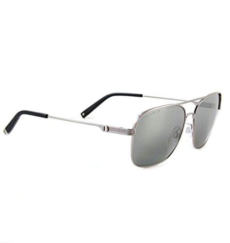 DSQUARED ² Designer Retro Vintage Sonnenbrille Mattsilber mit blauen Gläsern KoXqnBMfU
