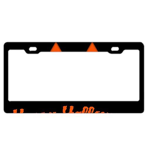 KSLIDS Home and Bar Wall Decor Car Vehicle License Plate Souvenir Halloween Evil Pumpkin]()