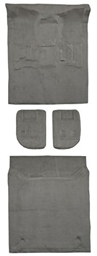 2007 to 2009 GMC Yukon XL Suburban Carpet Custom Molded Replacement Kit, Complete Kit, With 2nd Row Bucket Seats (801-Black Plush Cut Pile)
