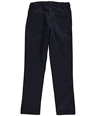 Denice Stretch Big Girls'Jean Pocket Skinny Uniform Pants
