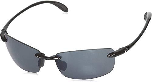 Costa Del Mar Ballast Polarized Sunglasses, Black, Gray 580 Plastic