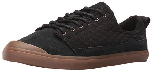 Reef Womens Girls Walled Low QT Fashion Sneaker Black