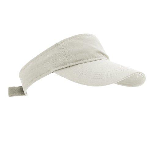 - Anvil Unisex Low Profile Twill Visor / Headwear (One Size) (Wheat)