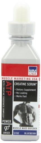 Muscle Marketing USA ATP Advantage Creatine Serum, Blueberry, 5.1-Ounce Bottle (Muscle Marketing Atp Advantage)