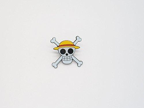Anime One Piece Jolly Roger Metal Pin Badge ~Pirates~
