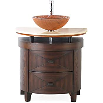 "Amazon.com: 32"" Vessel Sink Bathroom Vanity - Model # BWV"