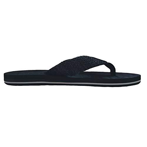 75fccd96b6a77 URBANFIND Men s Comfortable Flip Flops Lightweight Thong Sandals House  Slippers Athletic Arch Support Slides Black