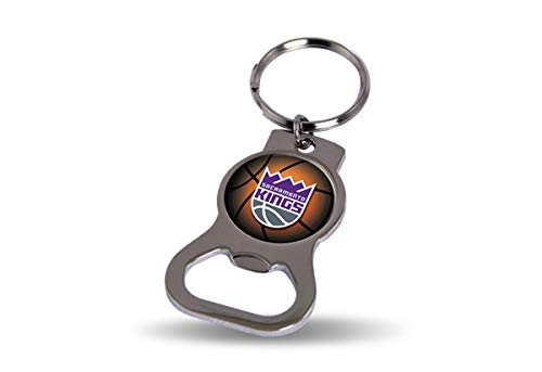 Rico Industries NBA Sacramento Kings Metal Bottle Opener Keychain (Sacramento Goods Home)