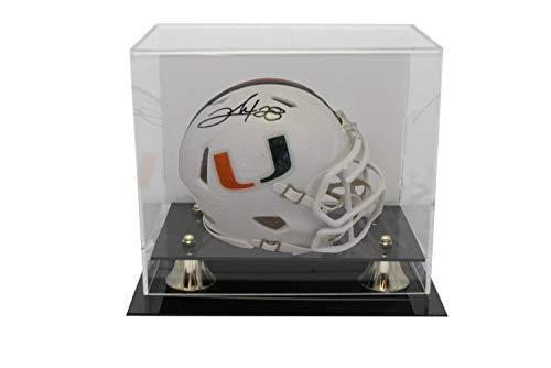 Clinton Portis Autographed Signed University Of Miami Hurricanes Mini Helmet JSA