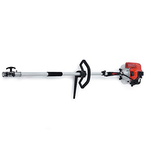 Maxtra Gas Pole Saw,42.7CC 2-Cycle 8.2FT to 11.4 FT Extendable Cordless Gas Chainsaw,Powerful Long Reach Tree Trimmer Pruning Chain Saw with Portable Bag