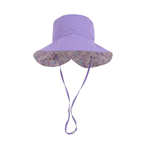 e822bfa60ca Womens Packable Sun Hats UPF 50+ Wide Brim UV Protection Beach Hat Mom and  Child