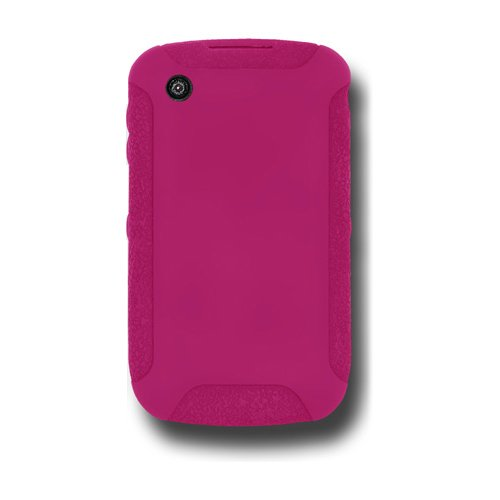 Jelly Case for BlackBerry Curve 3G 9300, Curve 8520, and Curve 8530 - Hot Pink (8520 Skin)