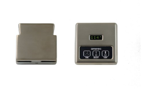 Amerec K60-BN Digital Control and Steamhead, Brushed Nickel (Amerec Steam Generator compare prices)