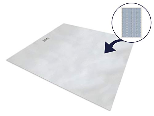 ERGO21 Liquicell Sleep Pad Mattress Topper/Overlay - Better Than Gel, Foam, and Air! Liquid-Filled Membranes. Blood Flow Improved by 150%